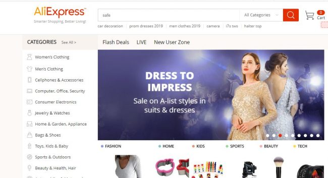 Dropshipping suppliers - Aliexpress