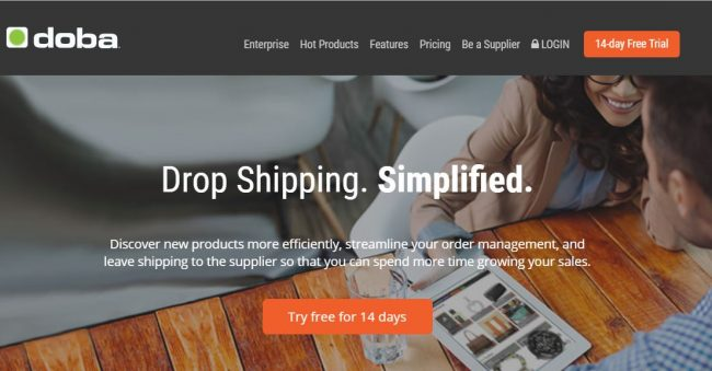 Drop shipping companies - Doba