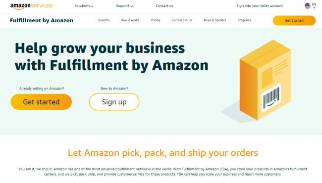 order fulfillment services - Amazon
