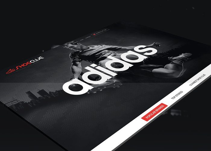 Adidas Twitter Banner