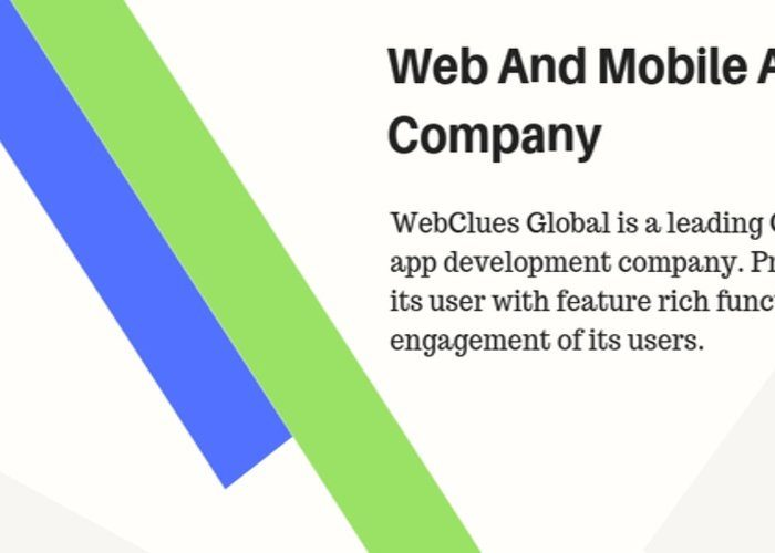Webclues Global Twitter banner
